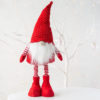 Nordic Fabric Santa With Extending Legs