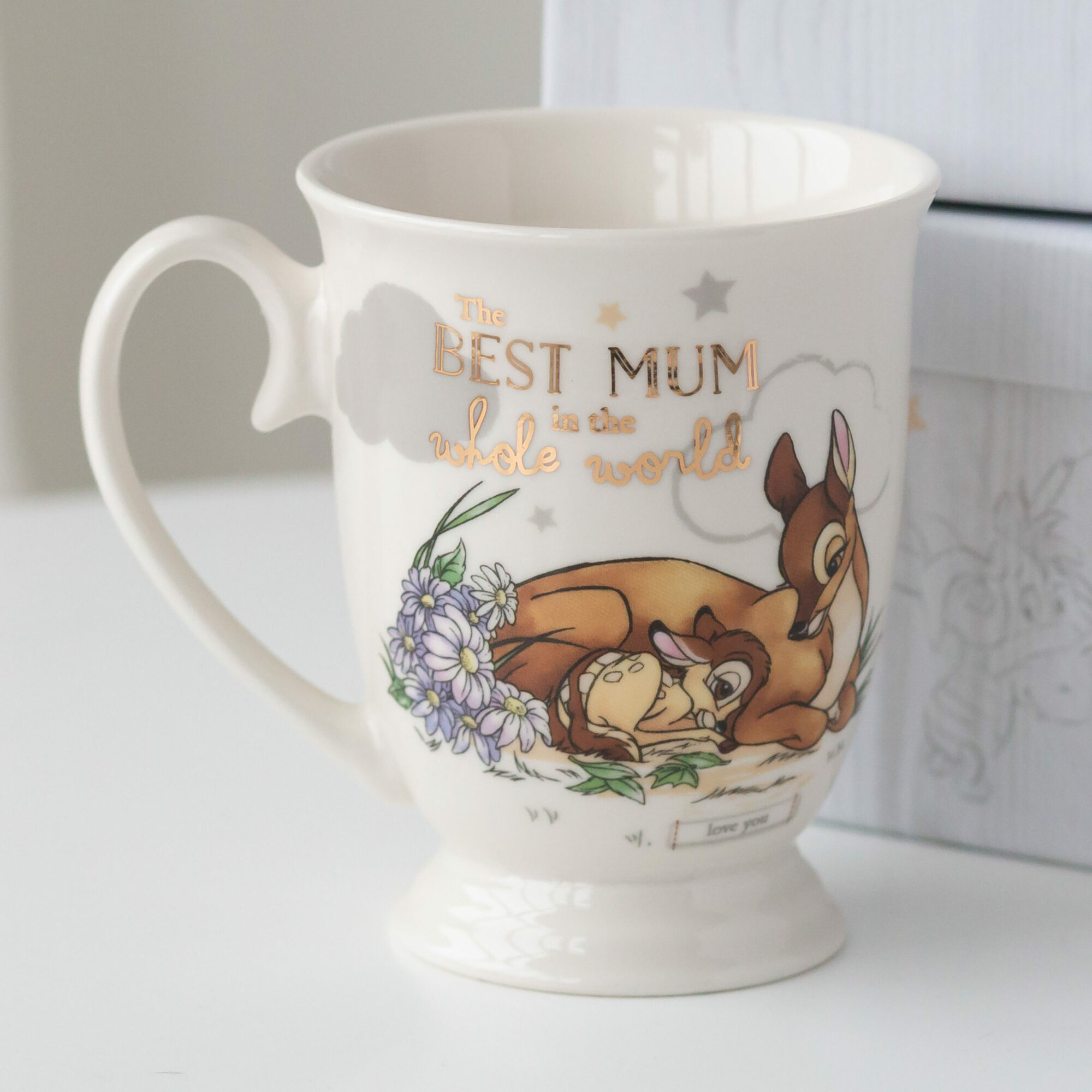 Disney Bambi The Best Mum Mug Love Unique Home Gifts