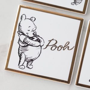 Disney Character Winnie The Pooh Collectable Ceramic Coaster