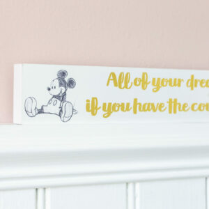 Mickey Mouse Disney Characters Wooden Block