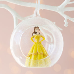 Christmas Disney Princess Belle 3D Bauble