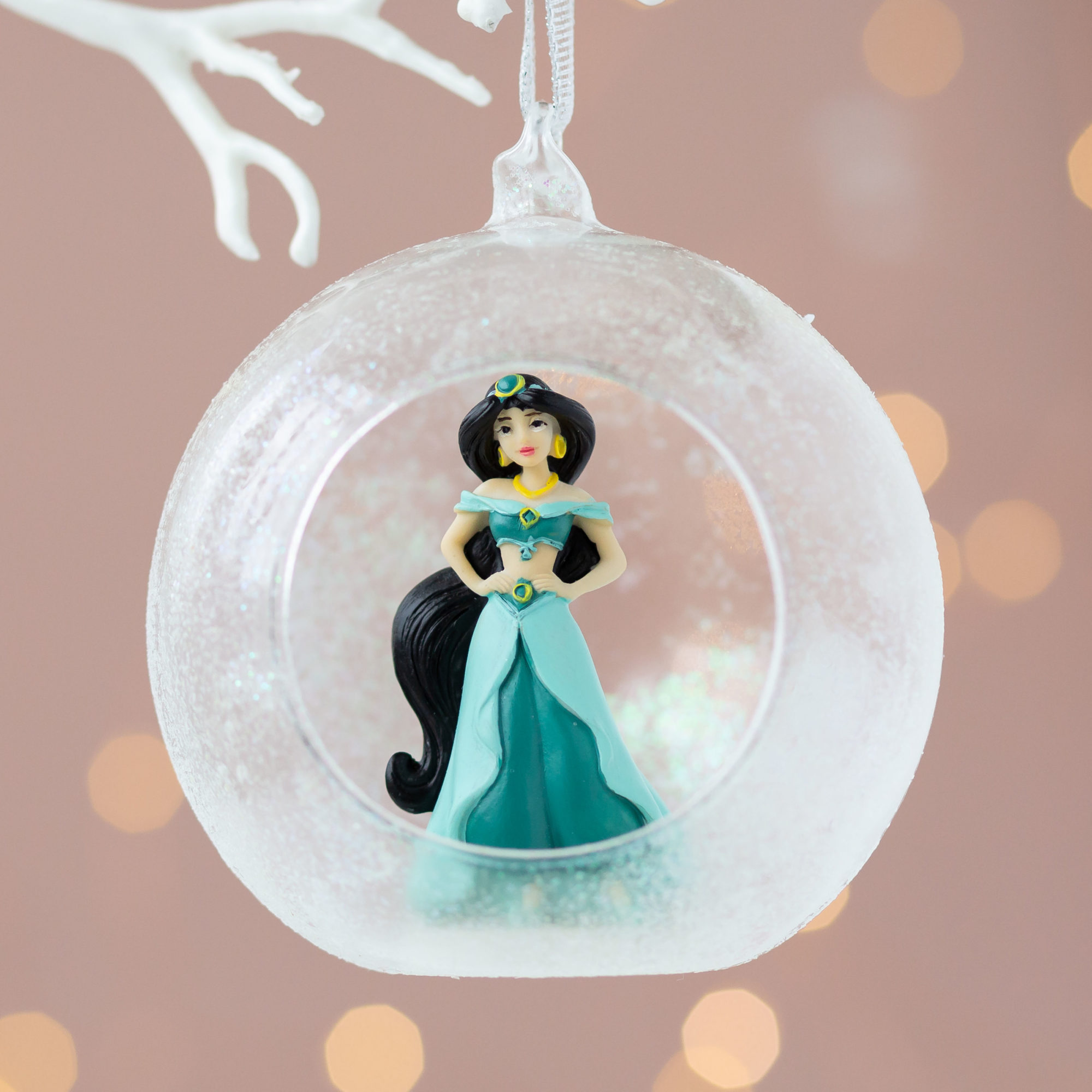 Christmas Disney Princess Jasmine 3D Bauble