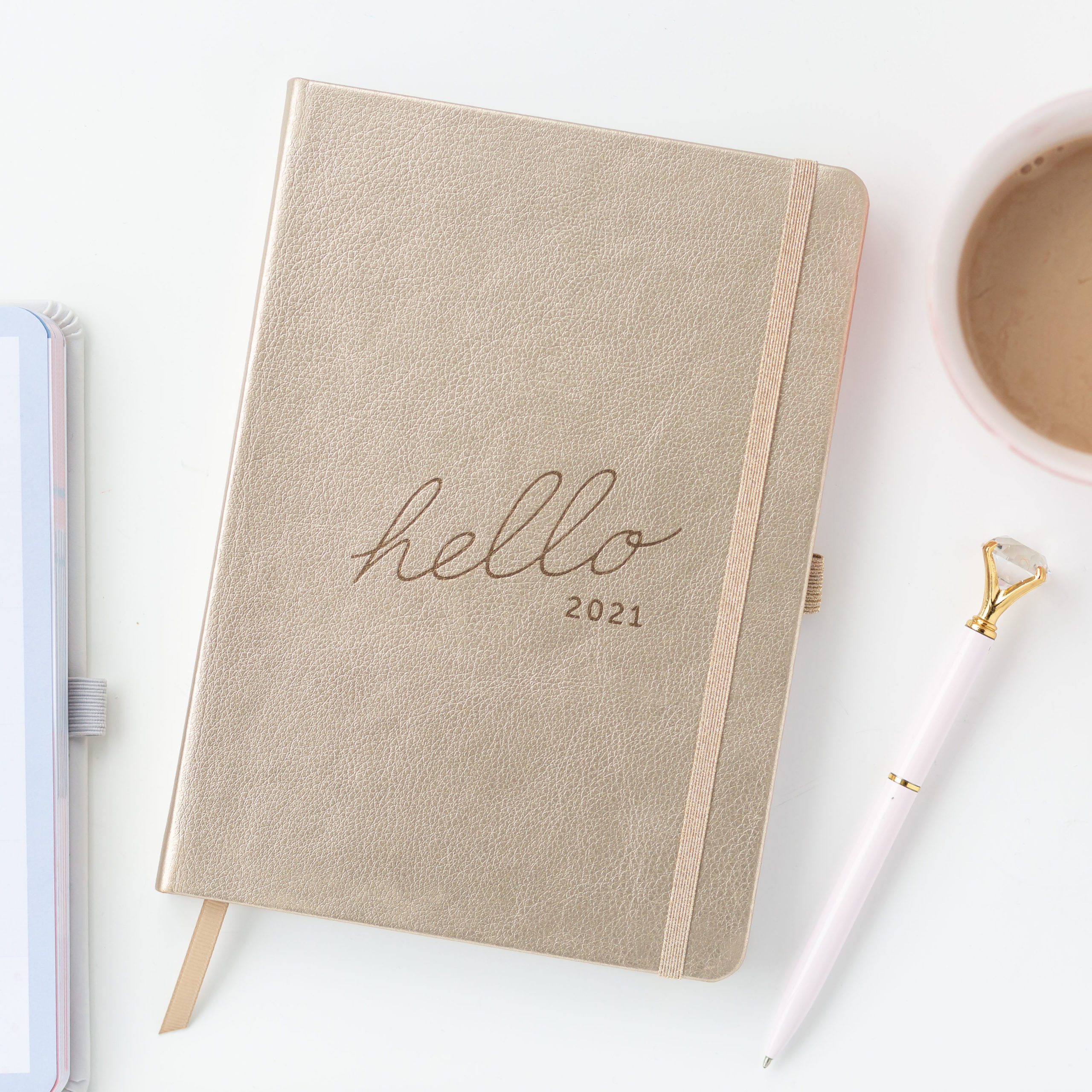 Busy B Family Planner 2021 - Gold