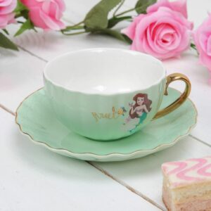 Disney Princess Ariel Pastel Teacup & Saucer