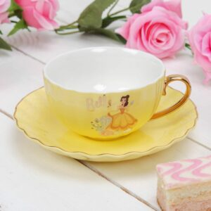 Disney Princess Belle Pastel Teacup & Saucer