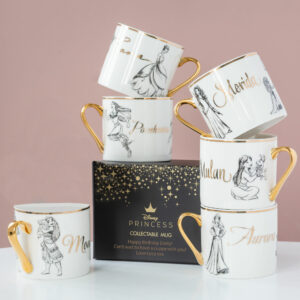 Set of 6 Disney Limited Edition Mug with Gift Boxes