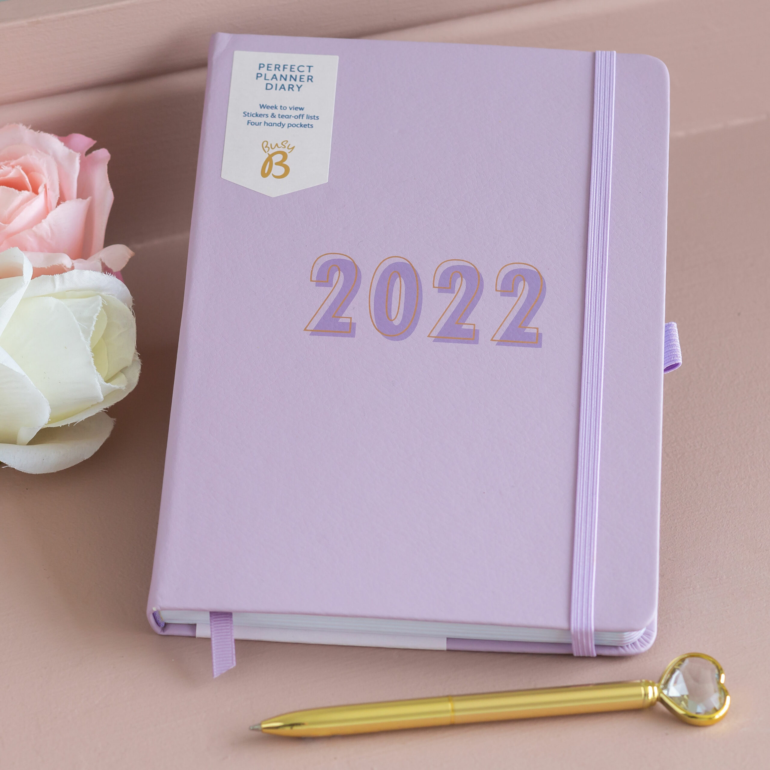 Busy B Lilac Perfect Planner 2022